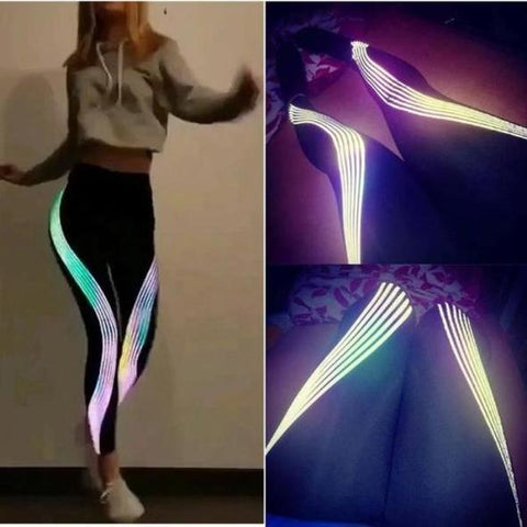 Holographic Power Leggings