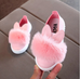 Kids Bunny Pom Pom Sneakers (18M-51/2Yrs)