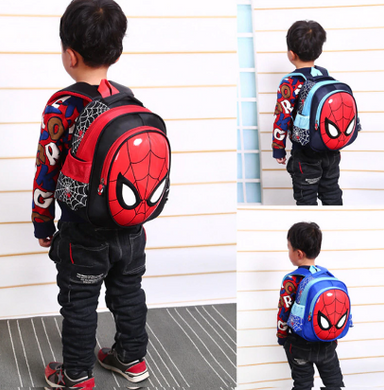 Kid Boy Spiderman Backpack (2-6Yrs) Free Shipping