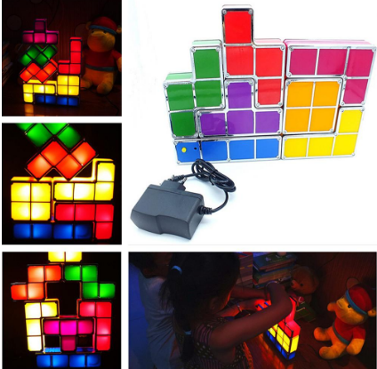 Tetris Stackable LED Night Lamp