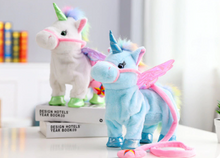 Walking Singing Unicorn Plush Toy 35cm (Free Shipping)