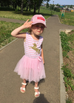 Unicorn Pink Dress (1-5Y)