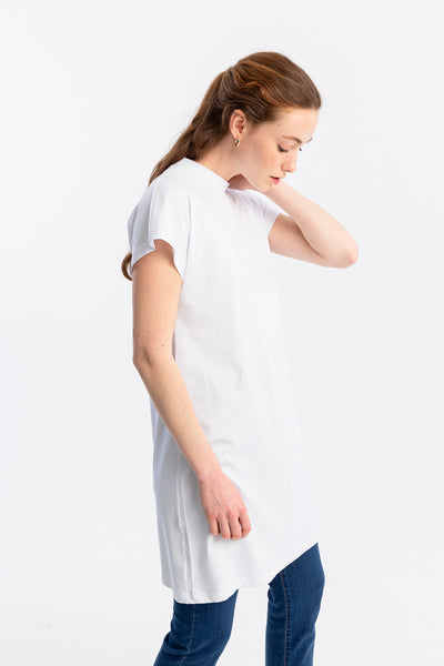 Dik Yaka Basic T-Shirt