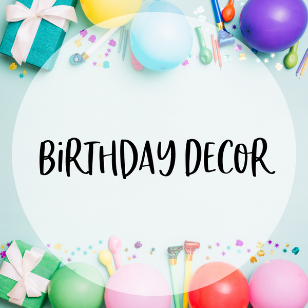 Party Decor & Products