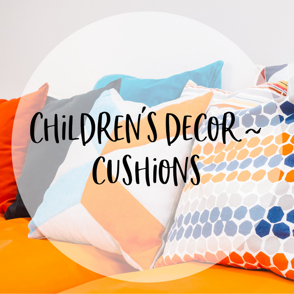 Children's Decor - Cushions