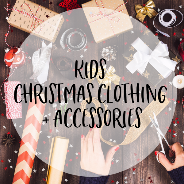 Kids Christmas Themed Clothing and Accessories
