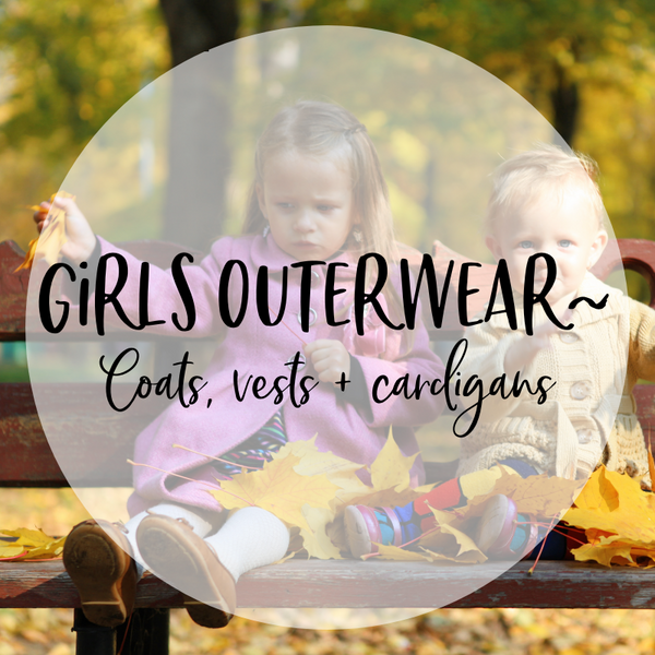 Girls Outerwear - Coats, vests and cardigans
