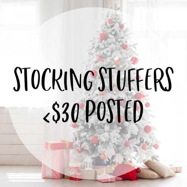 Stocking Stuffers - Everything Less than $30 posted!