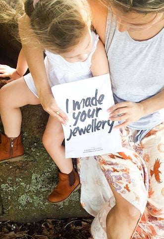 Love your tribe - I made your jewellery - Love Australian handmade