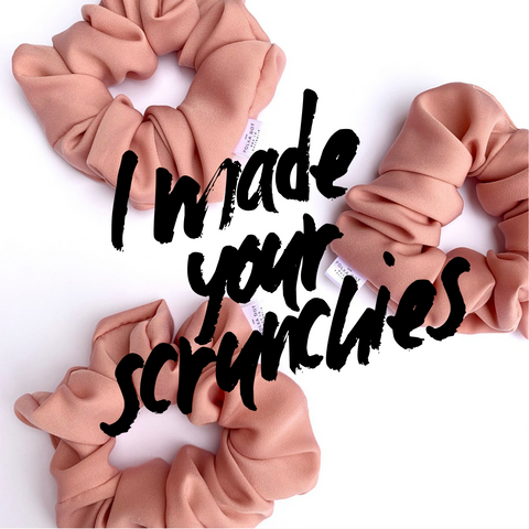 I made your scrunchies - Love Australian Handmade