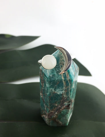 Moon Ring - Love Your Tribe - Love Australian Handmade