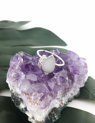 Moonstone Ring - Love Your Tribe - Love Australian Handmade