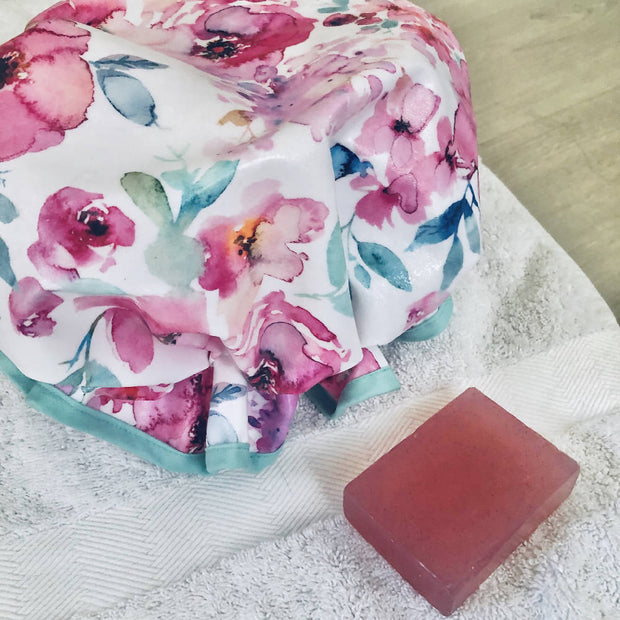 'That Floral Feeling' Shower Caps
