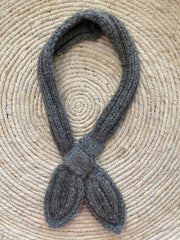 Hand knitted neck tie
