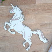 Cute wooden cut outs - Unicorns
