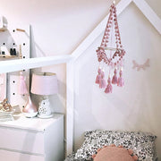 Mini Chandelier Tassel Mobile