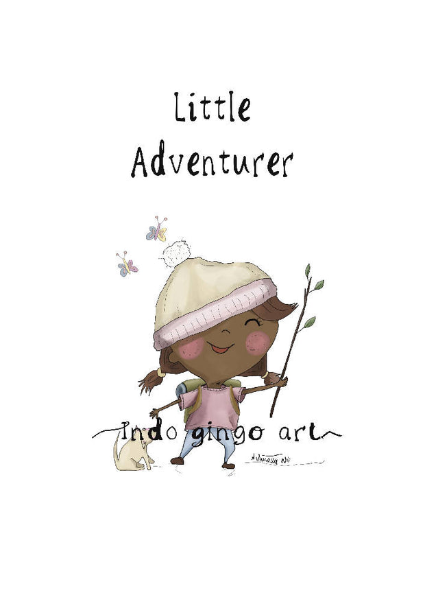 Little People Series - Little Adventurer print