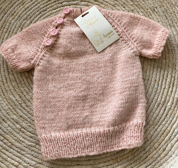 Baby Girl's Knitted top - fits 3 months