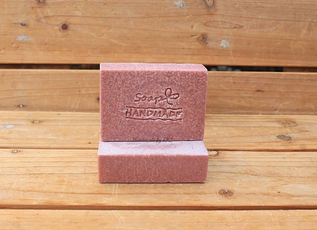 Salt Bar Soap with Pink Himalayan Salt and Oat's Milk - all vegan ( 4x 100g each)