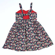 Amelie Navy Christmas Dress