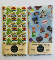 Reusable Beeswax Wrap Pack of 2