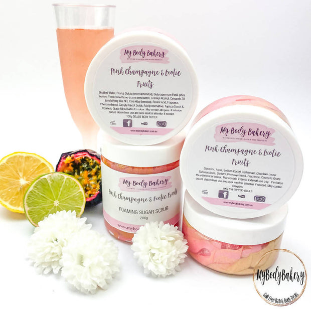 Pink Champagne & Exotic Fruits Deluxe Body Butter