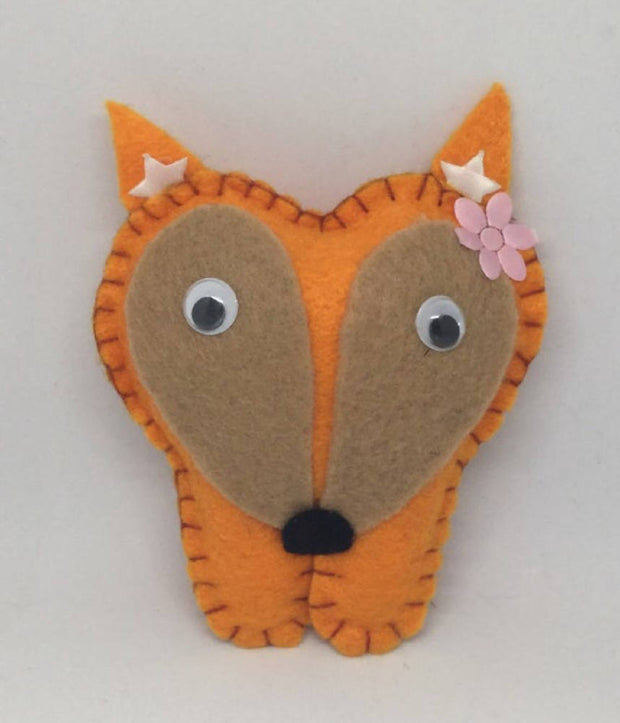Fox personalised Tooth fairy pillow