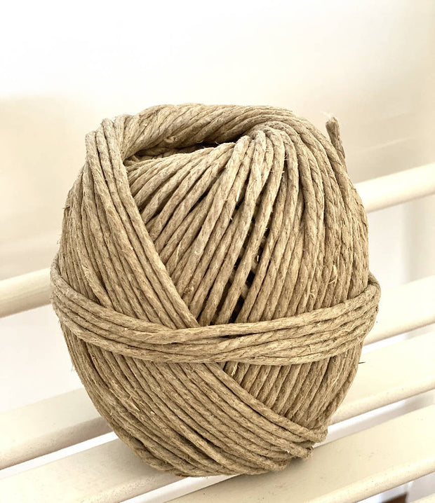 Thick Linen Cord/String/Twine (includes free planter pattern) 5mm