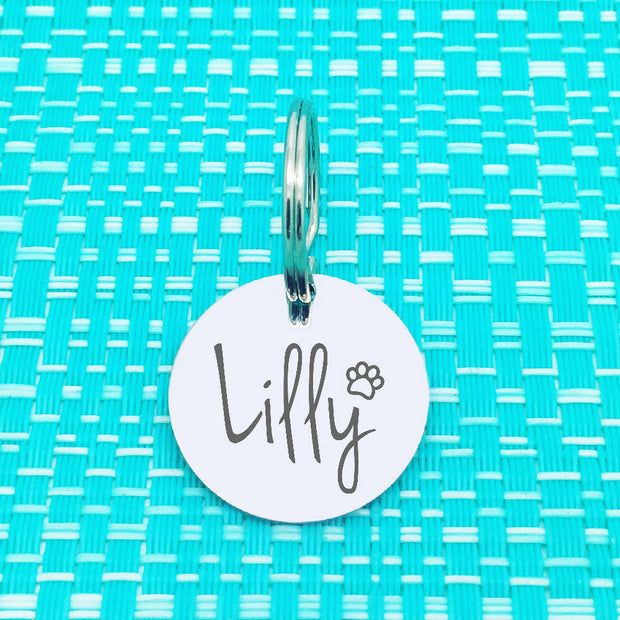Dog Tags - Cute Personalised Dog Name Tag, perfect dog lover gift!