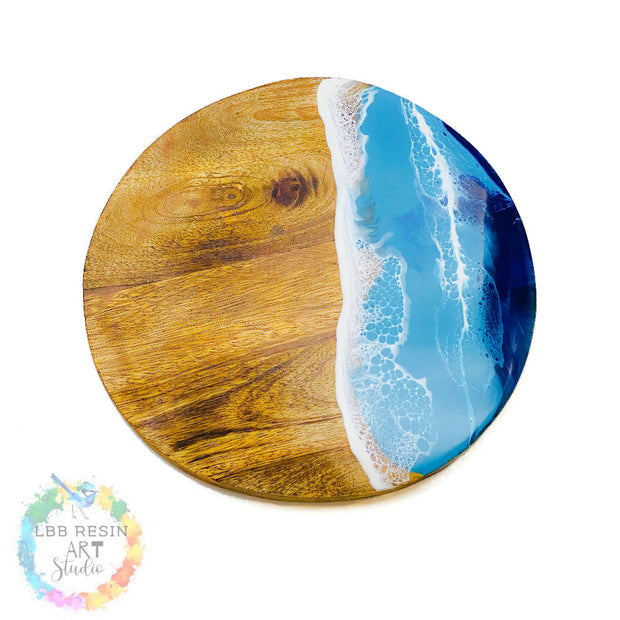MARKET SPECIAL Personalised Ocean Resin art Board