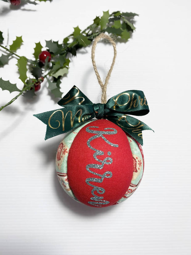 Personalised Bauble - Medium