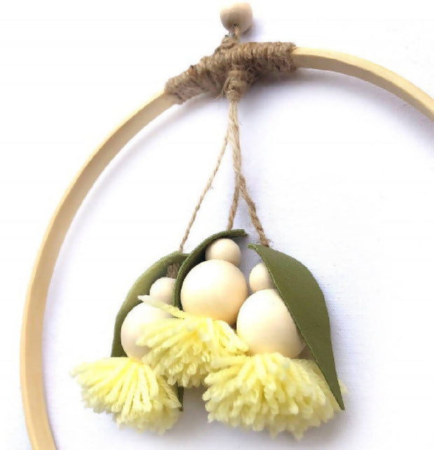 Yellow Gumnut Hoop