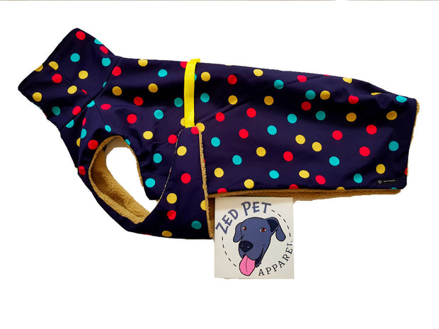 Chest Plate Style Dog Raincoat
