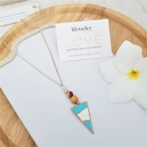Tribal Blue Necklace