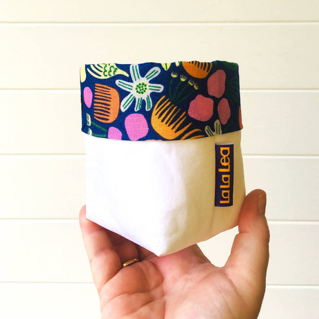 Paper Pots - White Washable Paper