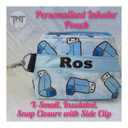Inhaler Pouch- Storage for your Asthma Inhaler