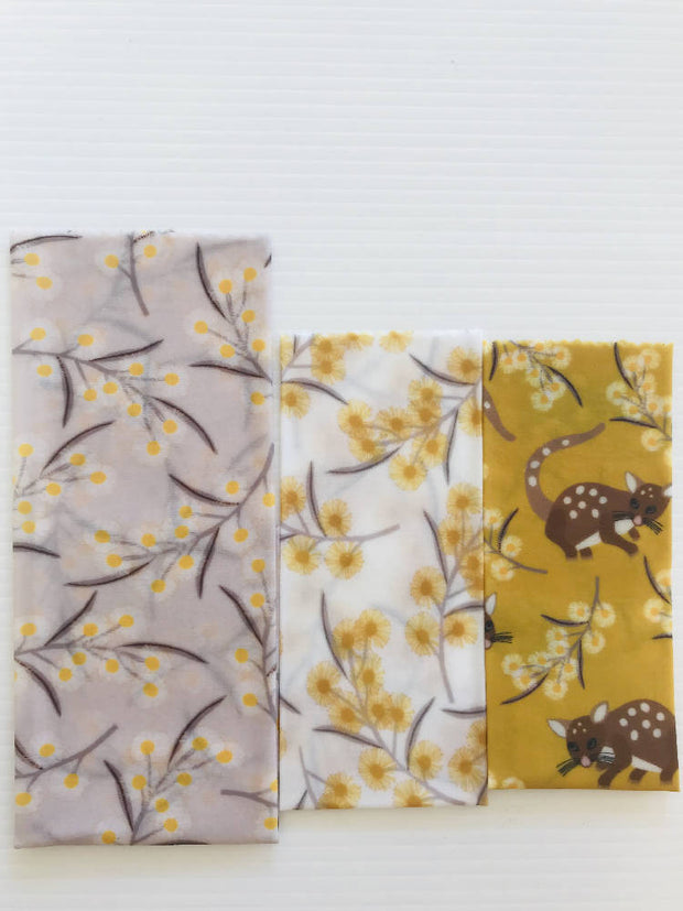 Beeswax Wrap Pack of 3