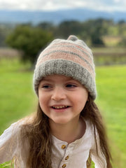 Girl's beanie - fits up to age 4
