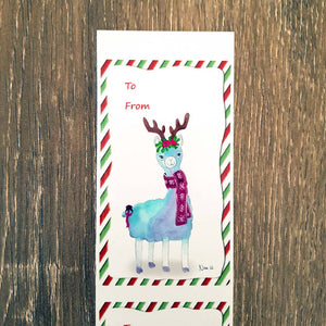 Paws for Giving - 10 Christmas gift labels - 50% profit donated to an Australian animal rescue of your choice!