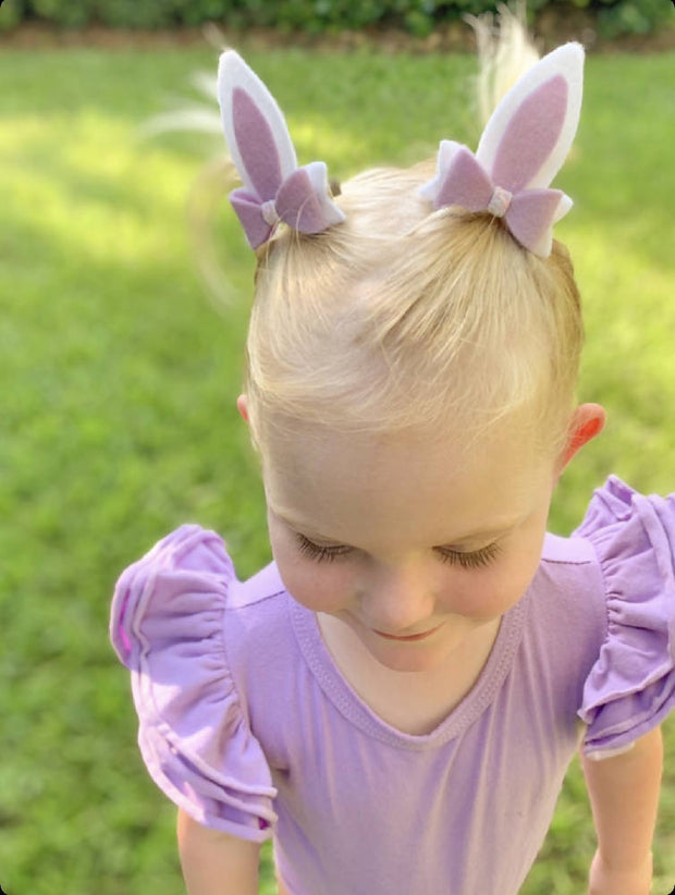 Bunny Ear Pigtail Bows