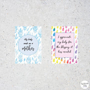 Positive Affirmation Cards for Mums