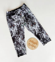 Girls' Eye of the Tiger Sports Leggings - Size 12