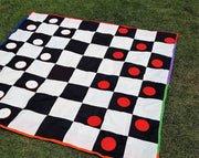 Checkers Board Games - Outdoor Games | Fun With Games | DSS Handmade