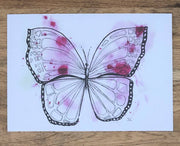 Touch of Pink Butterfly