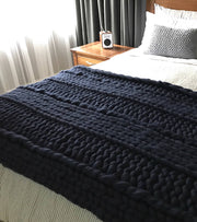 The Sloth Chunky Knit Blanket