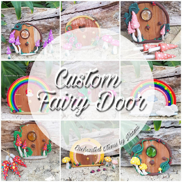 Custom Fairy Door Listing