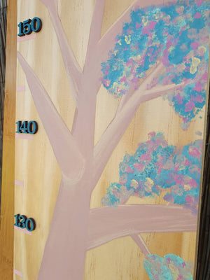 Hand Painted Kid's Height Chart