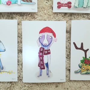 Paws for Giving - Sets of animal Christmas cards - 50% profit donated to an Australian animal rescue of your choice!