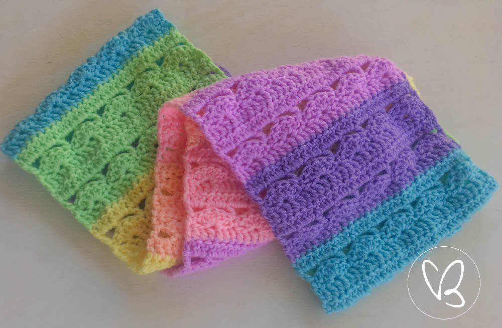 Beautiful Pastel Rainbow Infinity Scarf