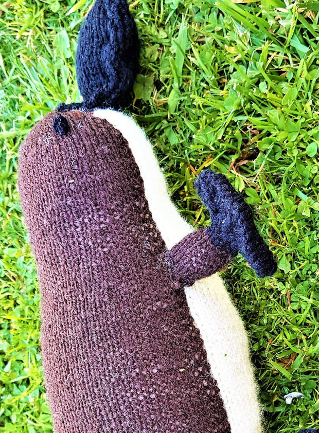 Australian Knitted Platypus Percy | Animal Plush Toy | DSS Handmade